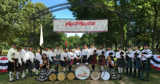 Nauvoo Pageant Bagpipe Band
